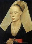 Portrait of a Lady painting reproduction, Rogier Van Der Weyden