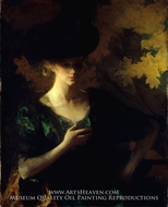 Portrait of a Lady by Frank W. Benson