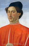 Portrait of a Man by Cosimo Rosselli