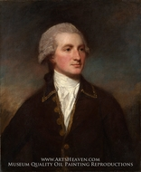 Portrait of a Man by George Romney