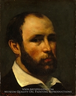 Portrait of a Man by Gustave Courbet