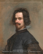 Portrait of a Man by Diego Velazquez