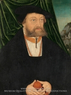 Portrait of a Man by Lucas Cranach