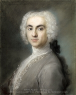 Portrait of a Man painting reproduction, Rosalba Giovanna Carriera