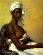 Portrait of a Negress painting reproduction, Marie-Guillemine Benoist