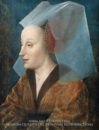 Portrait of a Noblewoman, Probably Isabella of Portugal� by Netherlandish Painter