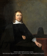 Portrait of a Seated Man by Gerard Ter Borch