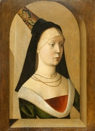 Portrait of a Woman painting reproduction, Hans Memling