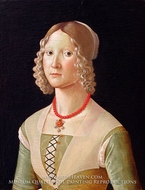 Portrait of a Woman by Domenico Ghirlandaio