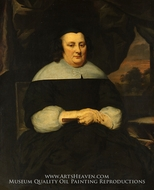 Portrait of a Woman by Nicolaes Maes