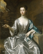 Portrait of a Woman, Called Maria Taylor Byrd painting reproduction, Sir Godfrey Kneller