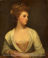 Portrait of a Woman (Emily Bertie Pott) by George Romney