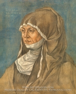 Portrait of a Woman, Said to Be Caritas Pirckheimer painting reproduction, Albrecht Durer