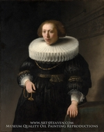 Portrait of a Woman, the Van Beresteyn Family by Rembrandt Van Rijn