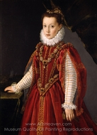 Portrait of a Young Lady painting reproduction, Sofonisba Anguissola
