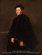 Portrait of a Young Man by Jacopo Tintoretto