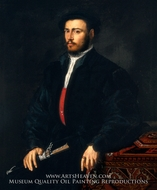 Portrait of a Young Nobleman painting reproduction, Veneto-Lombard