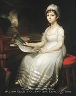 Portrait of a Young Woman by Mather Brown
