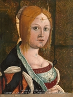 Portrait of an Italian Woman by Albrecht Durer