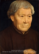 Portrait of an Old Man by Hans Memling