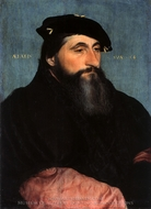Portrait of Anton the Good, Duke of Lorraine painting reproduction, Hans Holbein, The Younger
