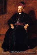 Portrait of Archbishop William Henry Elder by Thomas Eakins