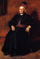 Portrait of Archbishop William Henry Elder painting reproduction, Thomas Eakins