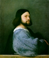 Portrait of Ariosto by Titian