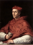 Portrait of Cardinal Bibbiena by Raphael Sanzio
