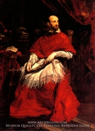 Portrait of Cardinal Guido Bentivoglio by Sir Anthony Van Dyck