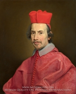 Portrait of Cardinal Marco Gallo by Giovanni Battista Gaulli