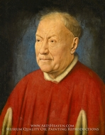 Portrait of Cardinal Niccolo Albergati by Jan Van Eyck