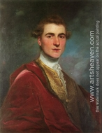 Portrait of Charles Hamilton, 8th Early of Haddington by Joshua Reynolds