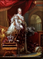Portrait of Charles X of France painting reproduction, Francois Gerard