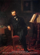 Portrait of Dr. John H Brinton by Thomas Eakins