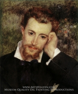 Portrait of Eugene Murer by Pierre-Auguste Renoir