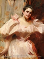 Portrait of Frieda Schiff by Anders Zorn