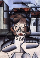 Portrait of Germaine Raynal by Juan Gris