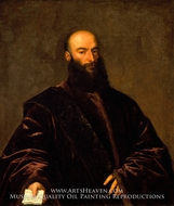 Portrait of Giacomo Dolfin by Titian