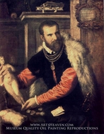Portrait of Jacopo Strada by Titian