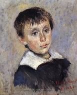 Portrait of Jean Monet painting reproduction, Claude Monet