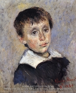 Portrait of Jean Monet by Claude Monet