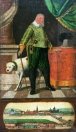 Portrait of Johann Georg I painting reproduction, Daniel Bretschneider the Younger