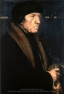 Portrait of John Chamber painting reproduction, Hans Holbein, The Younger
