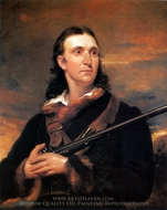 Portrait of John James Audubon painting reproduction, John Syme