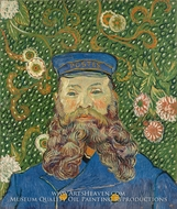 Portrait of Joseph Roulin by Vincent Van Gogh