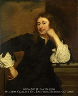 Portrait of Lucas Fayd'herbe painting reproduction, Pieter Franchoijs