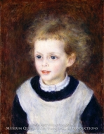 Portrait of Marguerite Berard painting reproduction, Pierre-Auguste Renoir