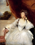 Portrait of Mrs. Stanhope painting reproduction, Sir Joshua Reynolds