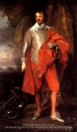 Portrait of Robert Rich, the Earl of Warwick by Sir Anthony Van Dyck
